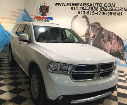 2013 Dodge Durango for sale at Monmars Auto Club in Tampa FL