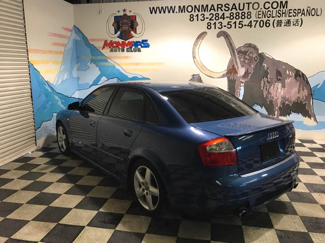 2003 Audi A4 for sale at Monmars Auto Club in Tampa FL