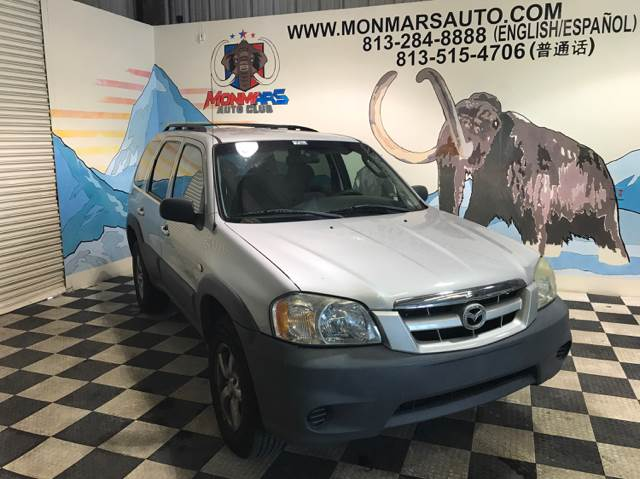2005 Mazda Tribute for sale at Monmars Auto Club in Tampa FL
