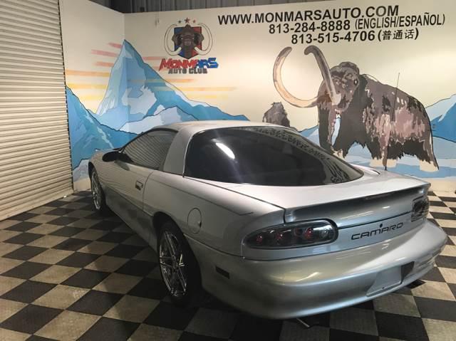 1998 Chevrolet Camaro for sale at Monmars Auto Club in Tampa FL