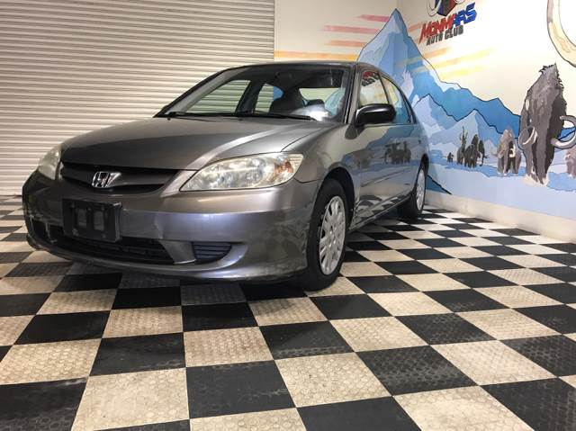 2005 Honda Civic for sale at Monmars Auto Club in Tampa FL