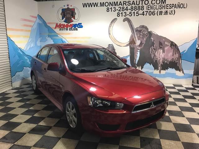 2013 Mitsubishi Lancer for sale at Monmars Auto Club in Tampa FL