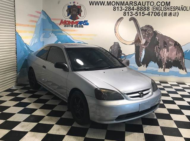 2001 Honda Civic for sale at Monmars Auto Club in Tampa FL