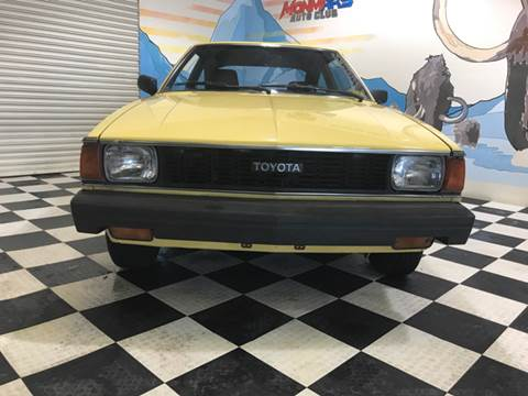 1980 Toyota Corolla for sale at Monmars Auto Club in Tampa FL