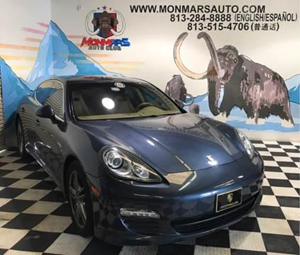 2012 Porsche Panamera for sale at Monmars Auto Club in Tampa FL