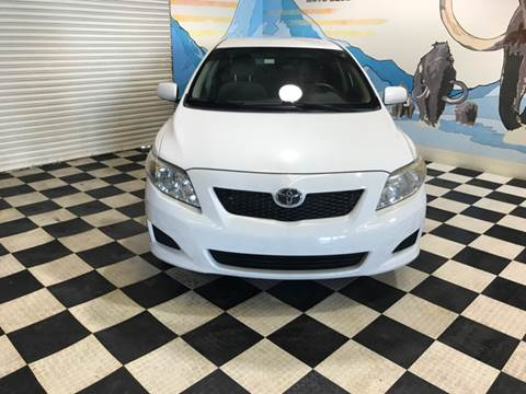 2009 Toyota Corolla for sale at Monmars Auto Club in Tampa FL