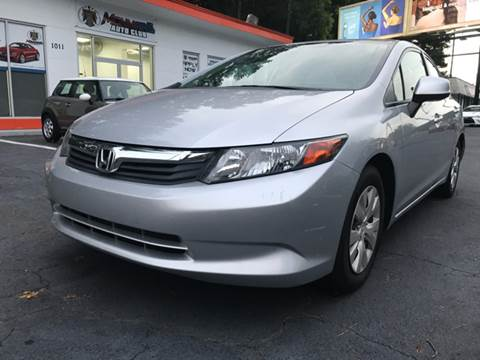 2012 Honda Civic for sale in Marietta, GA