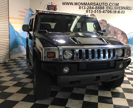 2003 HUMMER H2 for sale at Monmars Auto Club in Tampa FL