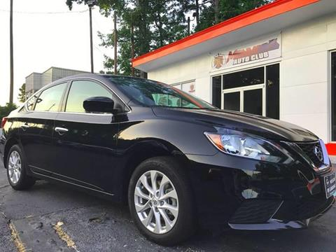 2016 Nissan Sentra for sale at Monmars Auto Club in Tampa FL