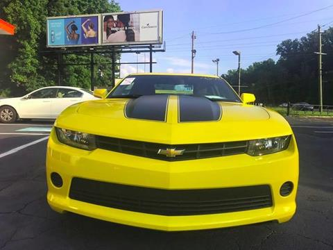2014 Chevrolet Camaro for sale at Monmars Auto Club in Tampa FL