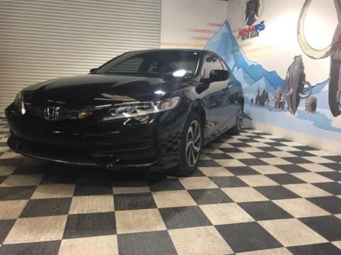 2016 Honda Accord for sale at Monmars Auto Club in Tampa FL