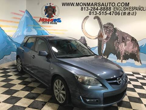 2008 Mazda MAZDASPEED3 for sale at Monmars Auto Club in Tampa FL