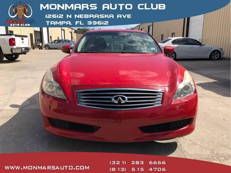 2010 Infiniti G37 Coupe In Tampa Fl Monmars Auto Club