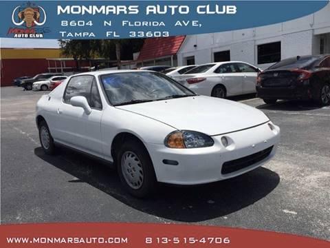 1993 Honda Civic Del Sol For Sale In Tampa, FL
