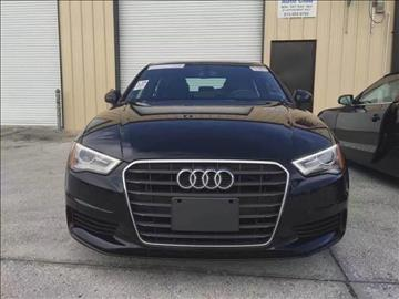 2015 Audi A3 for sale at Monmars Auto Club in Tampa FL