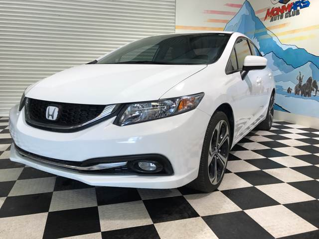 2015 Honda Civic for sale at Monmars Auto Club in Tampa FL
