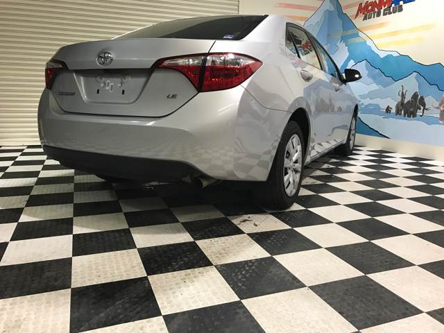 2015 Toyota Corolla for sale at Monmars Auto Club in Tampa FL