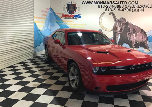 2016 Dodge Challenger for sale at Monmars Auto Club in Tampa FL