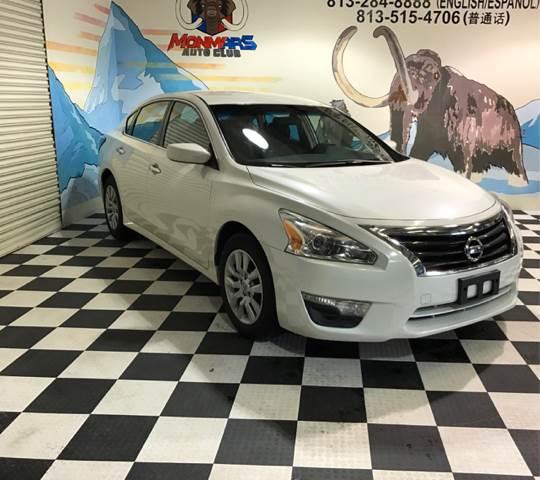 2013 Nissan Altima for sale at Monmars Auto Club in Tampa FL