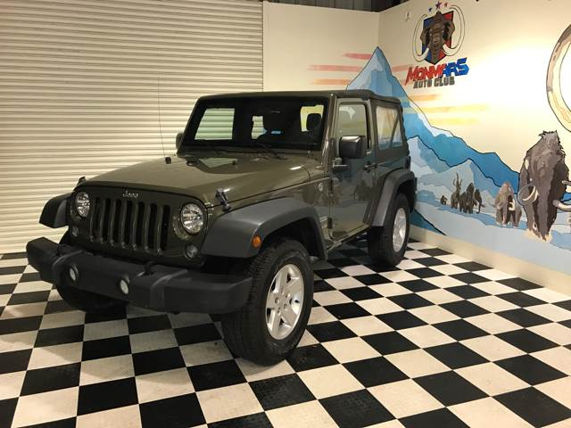 2015 Jeep Wrangler for sale at Monmars Auto Club in Tampa FL
