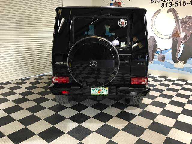 2016 Mercedes-Benz G-Class for sale at Monmars Auto Club in Tampa FL