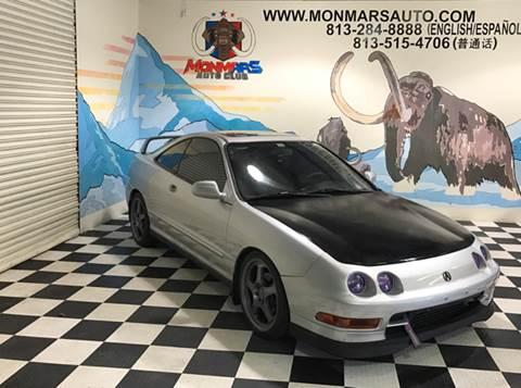 1996 Acura Integra for sale at Monmars Auto Club in Tampa FL