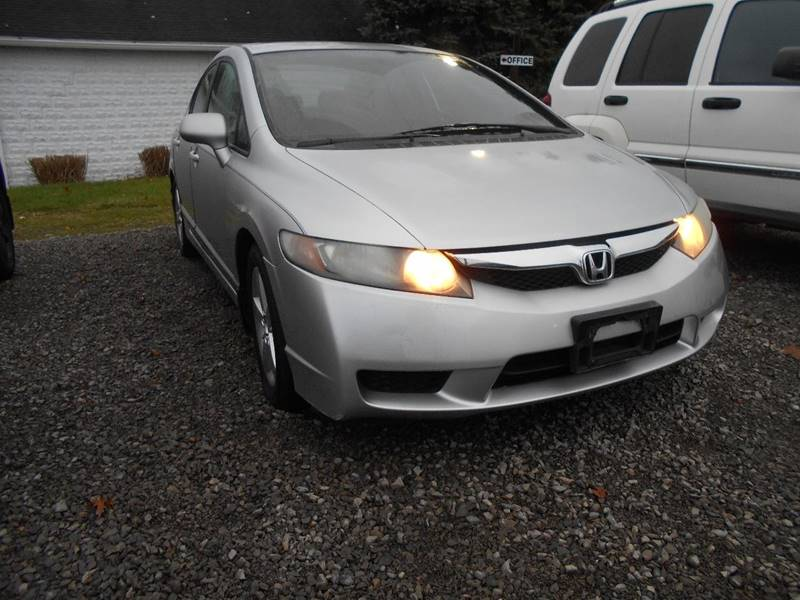 2009 Honda Civic LX S 4dr Sedan 5A