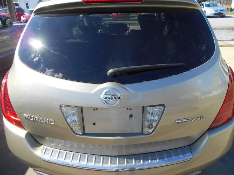 2007 Nissan Murano AWD S 4dr SUV - Grove City PA