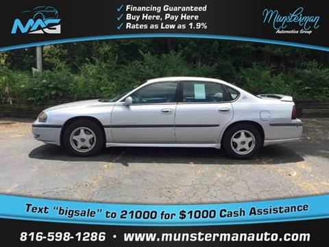 2002 Chevrolet Impala for sale in Blue Springs, MO