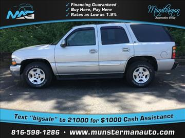 2004 Chevrolet Tahoe for sale in Blue Springs, MO