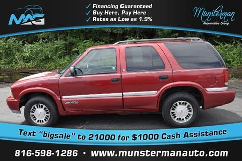 2001 GMC Jimmy for sale in Blue Springs, MO