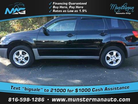 2003 Mitsubishi Outlander for sale in Blue Springs, MO