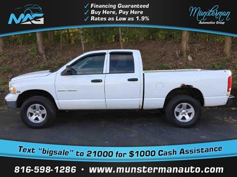 2004 Dodge Ram Pickup 1500 for sale in Blue Springs, MO