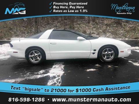 1998 Pontiac Firebird for sale in Blue Springs, MO