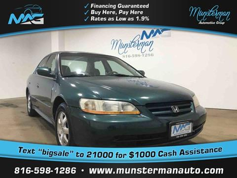 2002 Honda Accord for sale in Blue Springs, MO