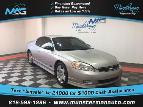 2006 Chevrolet Monte Carlo for sale in Blue Springs, MO