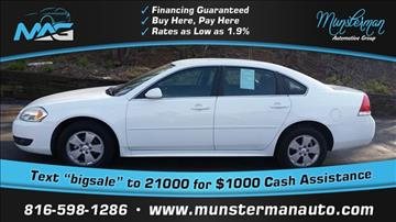 2011 Chevrolet Impala for sale in Blue Springs, MO