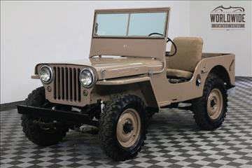1946 Willys CJ-2A for sale in Denver, CO