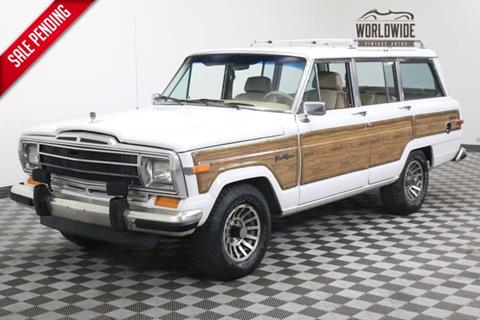 1990 Jeep Grand Wagoneer for sale in Denver, CO