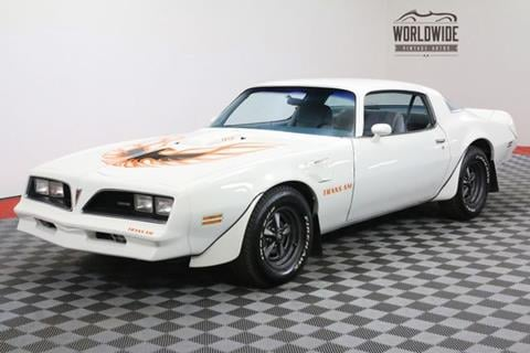 1978 Pontiac Trans Am for sale in Denver, CO