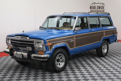 1986 Jeep Grand Wagoneer for sale in Denver, CO