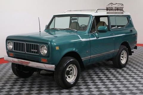 1973 International Scout for sale in Denver, CO