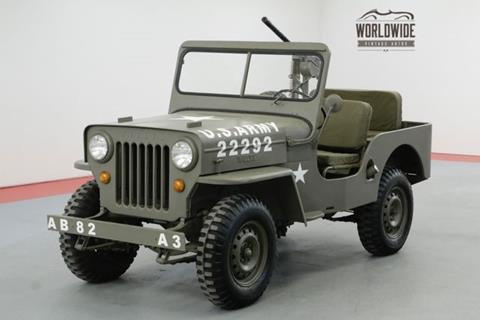 1963 Willys CJ-3B for sale in Denver, CO