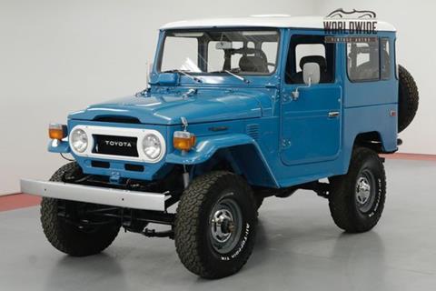 1978 Toyota Land Cruiser For Sale In Denver, CO