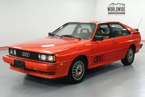 Audi Coupe For Sale Carsforsalecom - Audi quattro coupe for sale