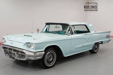 1960 Ford Thunderbird For Sale Carsforsale