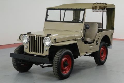 1946 Jeep Willys for sale in Denver, CO
