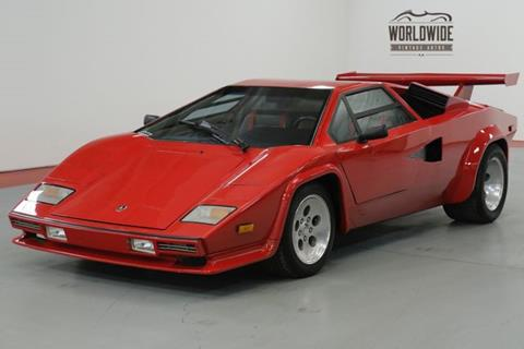 Used 1990 Lamborghini Countach For Sale In Maryland Carsforsale Com