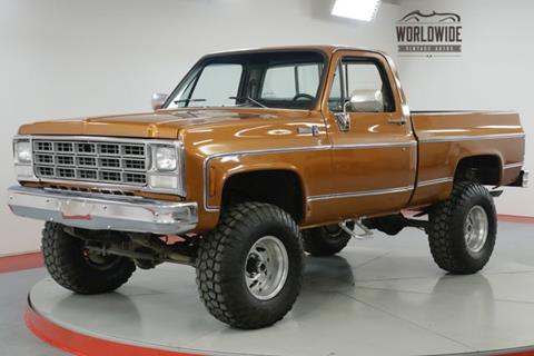 1980 Chevrolet Silverado 1500 SS Classic for sale in Denver, CO