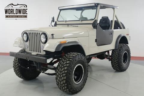 1979 Jeep CJ-7 for sale in Denver, CO